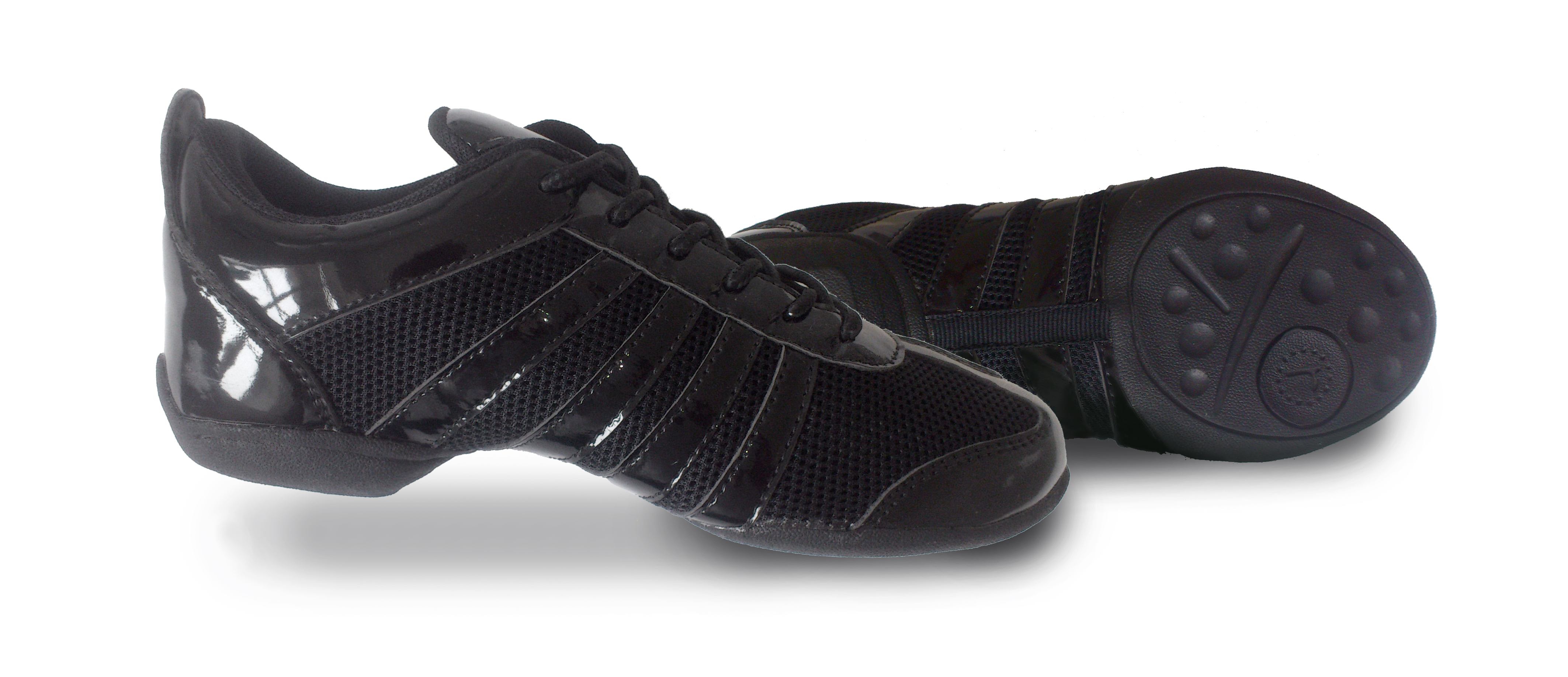 Split Sole Dance Sneakers (Patent)