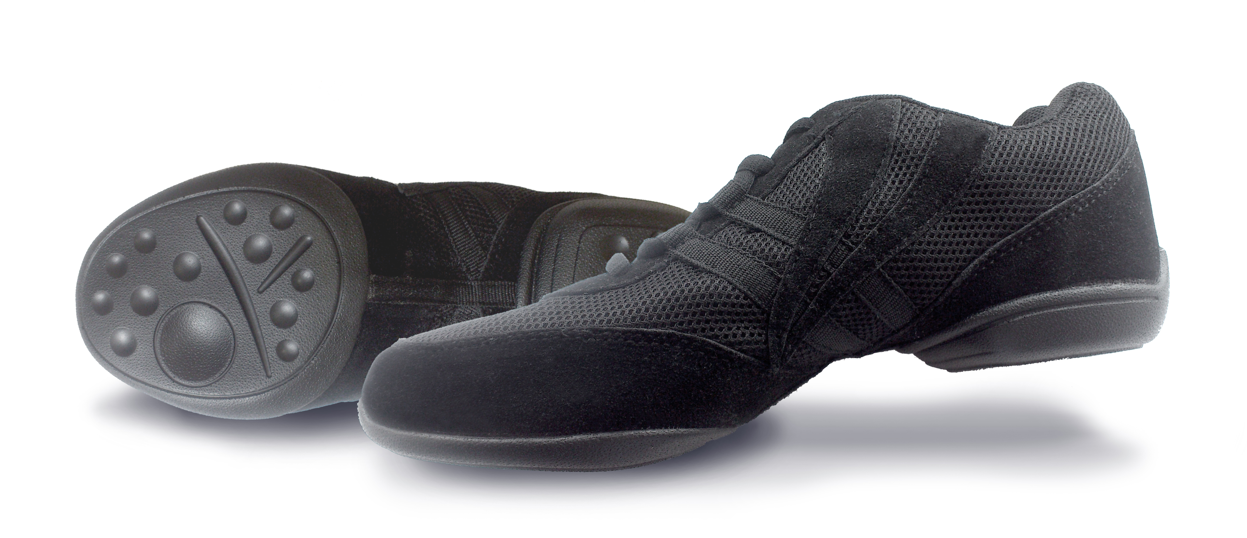 Split Sole Dance Sneakers Black